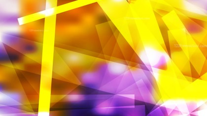 Abstract Purple and Orange Lines Stripes and Shapes Background Illustration