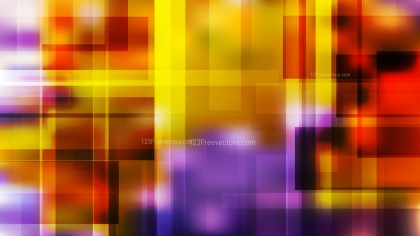 Purple and Orange Lines Stripes and Shapes Background