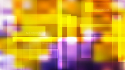 Abstract Geometric Purple and Orange Background