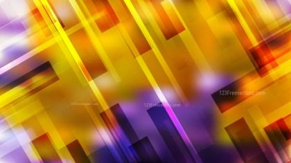 Abstract Purple and Orange Geometric Background Image