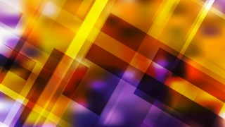 Abstract Purple and Orange Lines Stripes and Shapes Background Vector Art