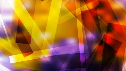 Purple and Orange Geometric Shapes Background Design
