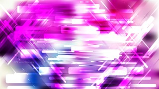Purple and White Lines Stripes and Shapes Background