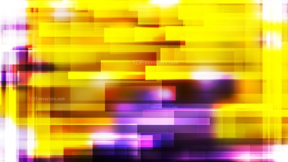 Purple and Yellow Modern Geometric Background