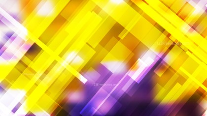 Purple and Yellow Geometric Abstract Background Vector Art