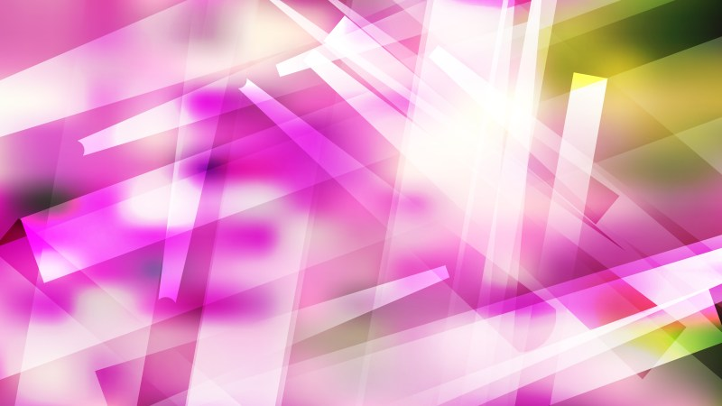 Abstract Geometric Purple Green and White Background Illustration