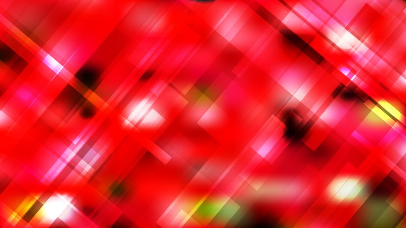 Abstract Red Modern Geometric Shapes Background