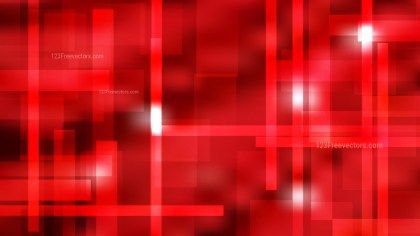 Abstract Red Modern Geometric Shapes Background Vector Graphic