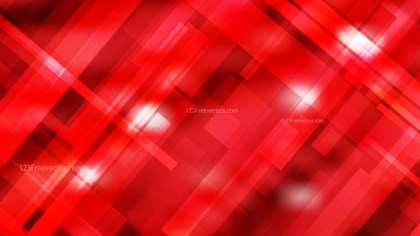 Red Geometric Abstract Background Vector Illustration