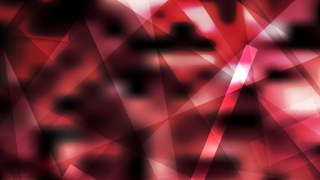 Abstract Red and Black Lines Stripes and Shapes Background