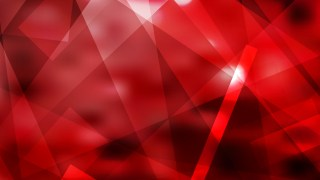 Abstract Geometric Red and Black Background Vector Illustration