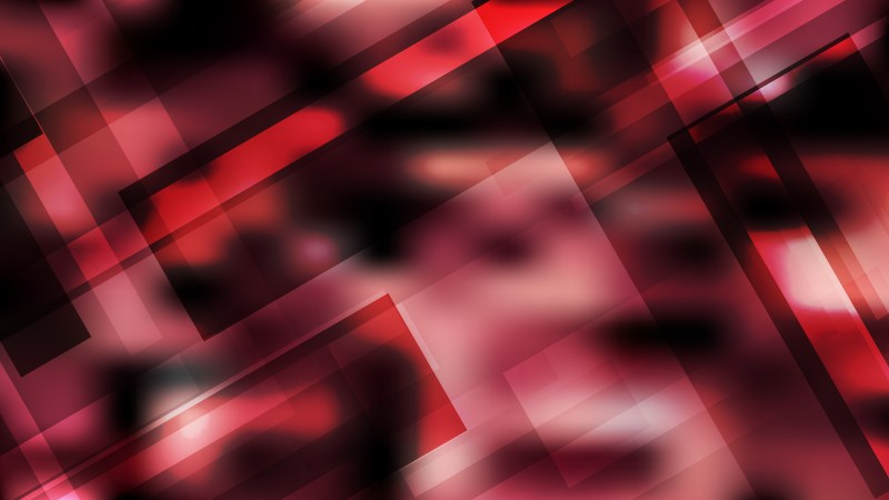 Abstract Red and Black Geometric Shapes Background Vector Image