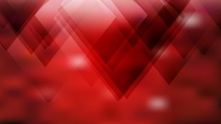 Abstract Geometric Red and Black Background