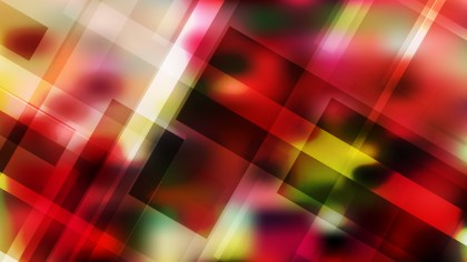 Red and Green Geometric Abstract Background