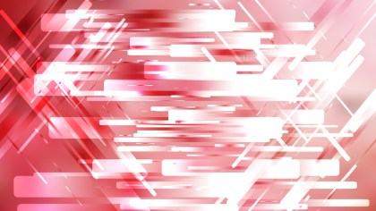 Abstract Red and White Modern Geometric Background