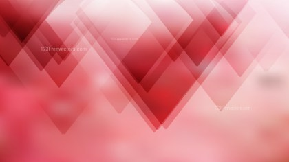 Geometric Abstract Red and White Background