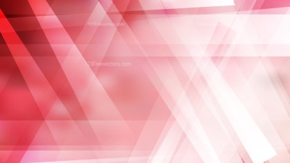 Red and White Modern Geometric Shapes Background