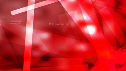 Red and White Lines Stripes and Shapes Background