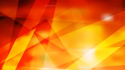 Abstract Geometric Red and Yellow Background Vector Illustration