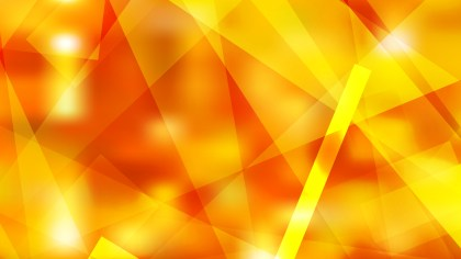 Abstract Geometric Red and Yellow Background
