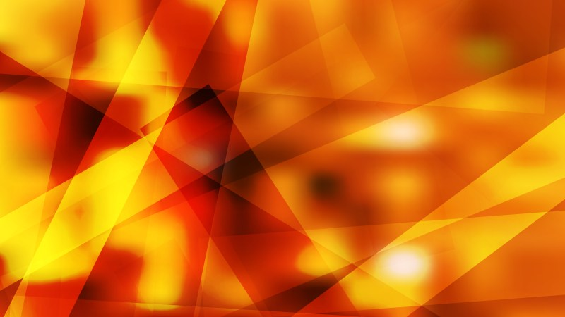 Geometric Abstract Red and Yellow Background Illustrator