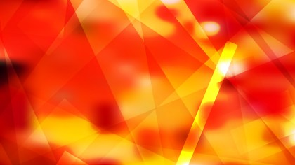 Red and Yellow Modern Geometric Shapes Background Vector Illustration