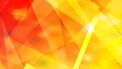Abstract Red and Yellow Geometric Shapes Background Vector Art
