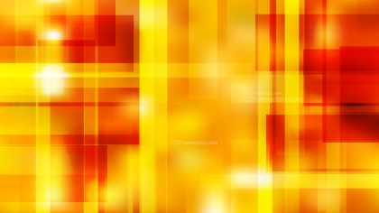 Abstract Red and Yellow Modern Geometric Shapes Background Graphic