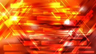Geometric Abstract Red and Yellow Background