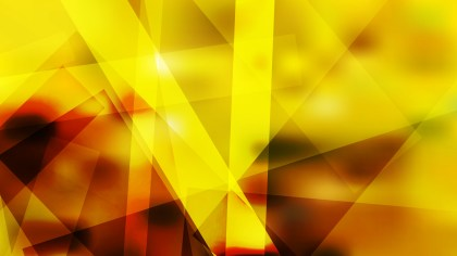 Abstract Red and Yellow Geometric Shapes Background Illustration