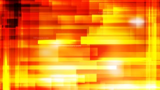Abstract Red and Yellow Geometric Shapes Background Vector Image