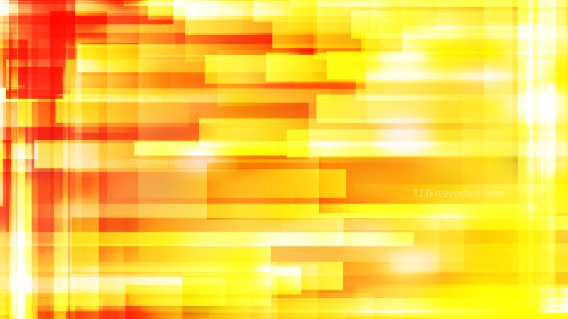Red and Yellow Modern Geometric Background Vector Art