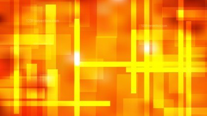 Red and Yellow Modern Geometric Shapes Background Illustration