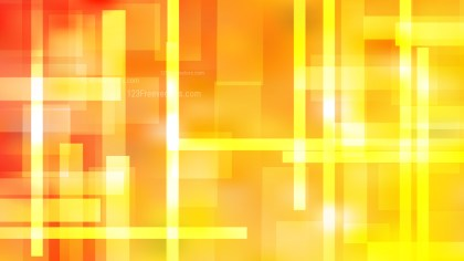Abstract Red and Yellow Geometric Shapes Background