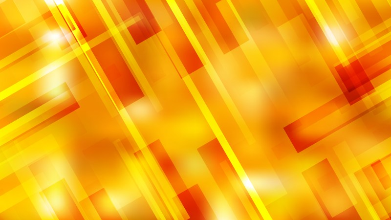 Abstract Red and Yellow Modern Geometric Shapes Background