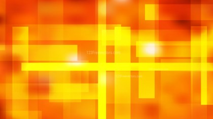 Abstract Red and Yellow Lines Stripes and Shapes Background