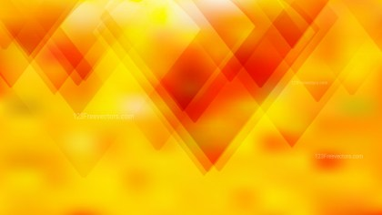 Abstract Red and Yellow Geometric Background Image