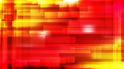 Abstract Red and Yellow Modern Geometric Shapes Background Design