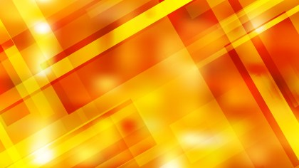 Red and Yellow Modern Geometric Shapes Background Vector Image