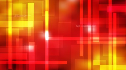 Abstract Red and Yellow Modern Geometric Shapes Background Illustrator