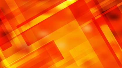 Red and Yellow Geometric Abstract Background Vector Image