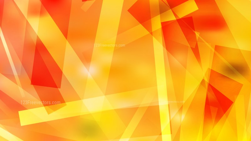 Red and Yellow Geometric Abstract Background