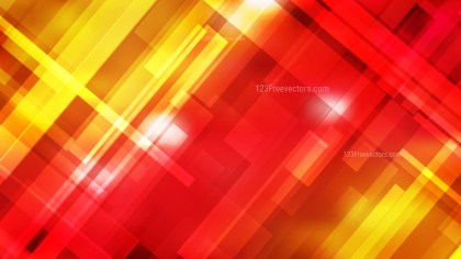 Red and Yellow Geometric Background Illustrator