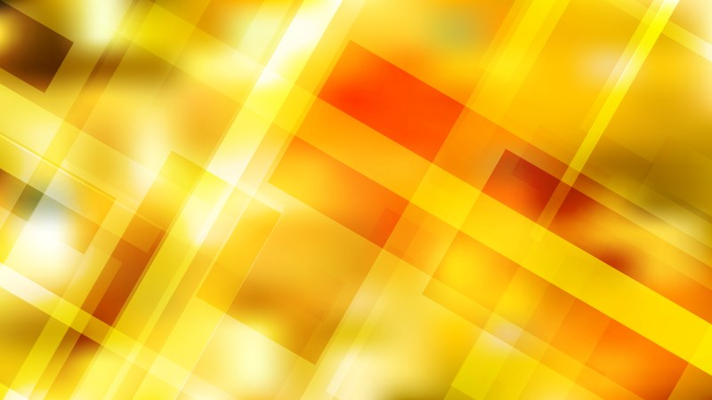 Red and Yellow Modern Geometric Background Vector Illustration
