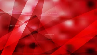 Abstract Red Black and White Geometric Background
