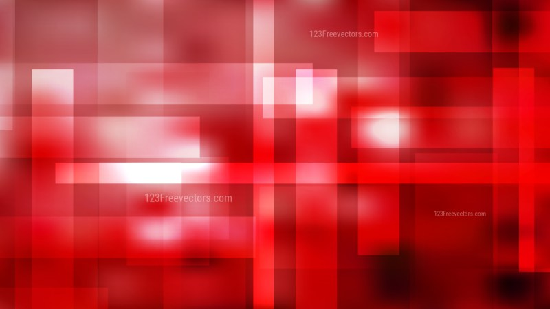 Abstract Red Black and White Modern Geometric Shapes Background