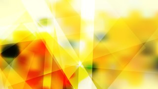 Abstract Red White and Yellow Geometric Shapes Background