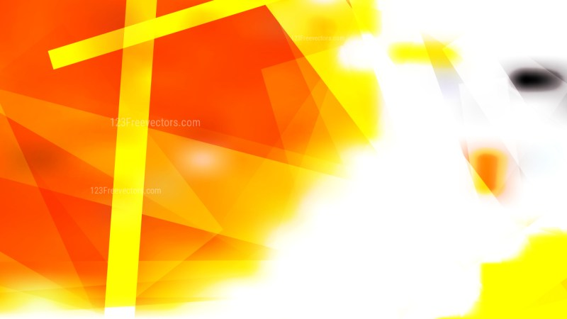 Red White and Yellow Geometric Abstract Background