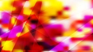 Red White and Yellow Geometric Shapes Background