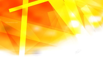 Geometric Abstract Red White and Yellow Background